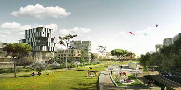 amenagement urbain montpellier